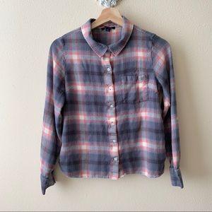 Tommy Hilfiger plaid / flannel button down